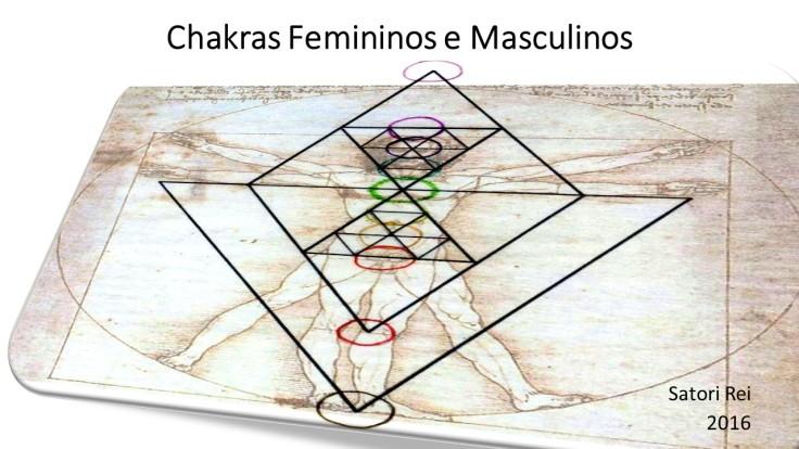 Chakras Femininos e Masculinos
