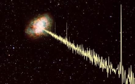 pulsar nebulosa Caranguejo